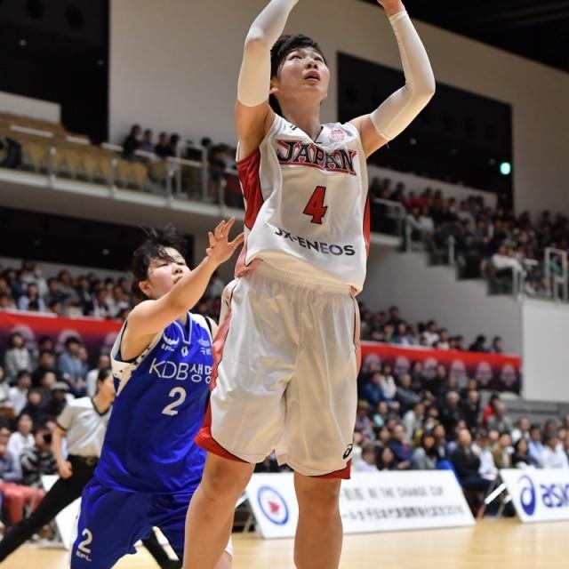 #4 小菅 由香選手のシュート