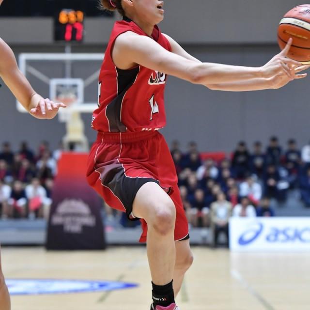 パスを出す#14 本川 紗奈生選手