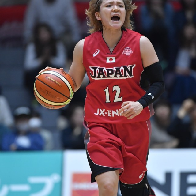 司令塔の#12 吉田 亜沙美選手