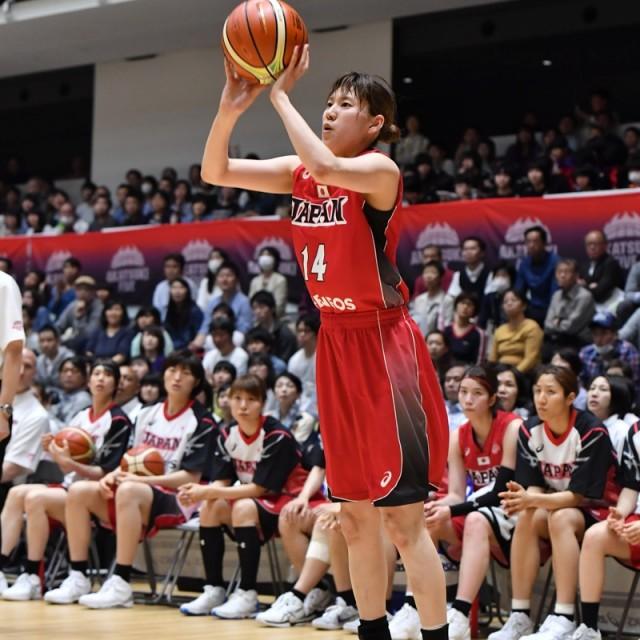#14 本川 紗奈生選手の3Pシュート