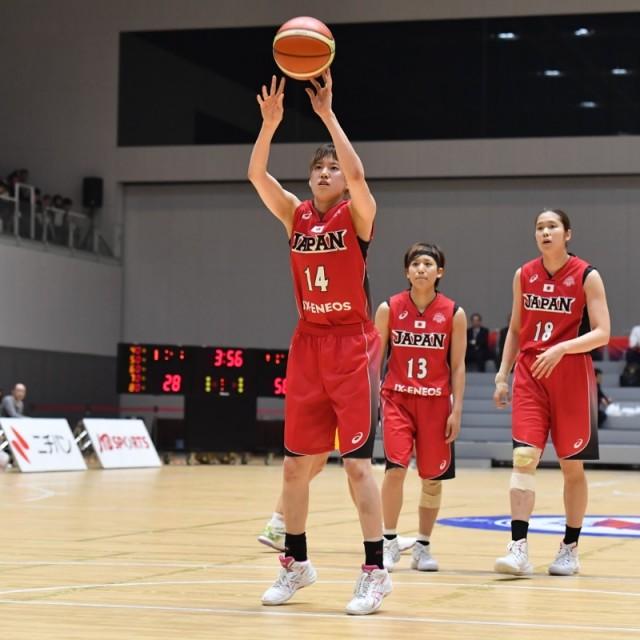 積極的に攻めてフリースローをもらう#14 本川 紗奈生選手