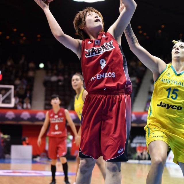 シュートエリア広く得点を重ねていく#8 髙田 真希選手