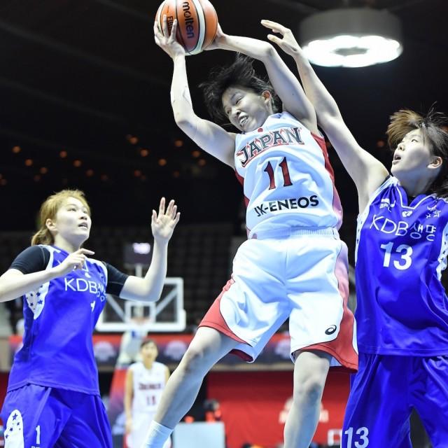 身体能力高い#11 林 咲希選手のリバウンド