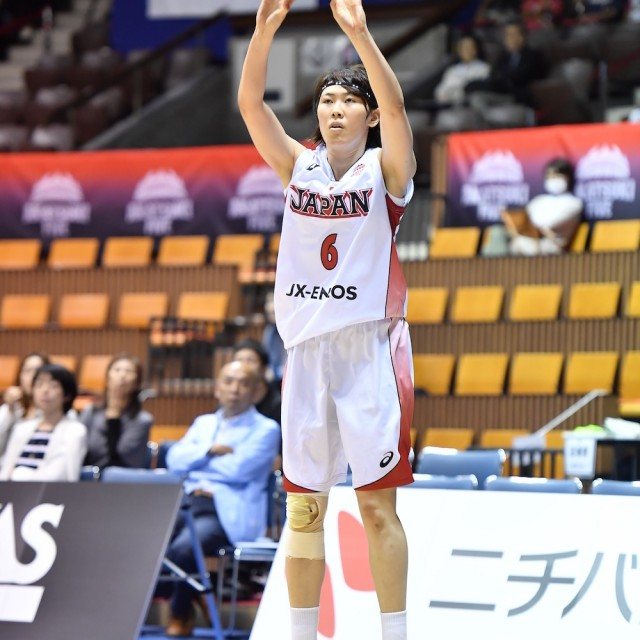 #6 池谷 悠希選手は5本の3Pシュート成功
