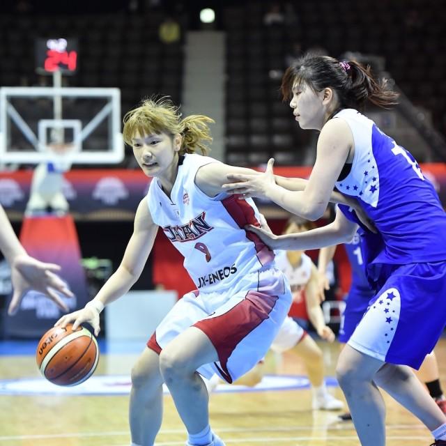 #9 近平 奈緒子選手はフィジカル強くペイントエリアへアタック